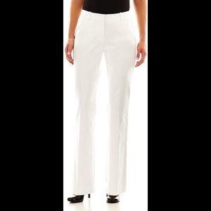 White Worthington Dress Slacks